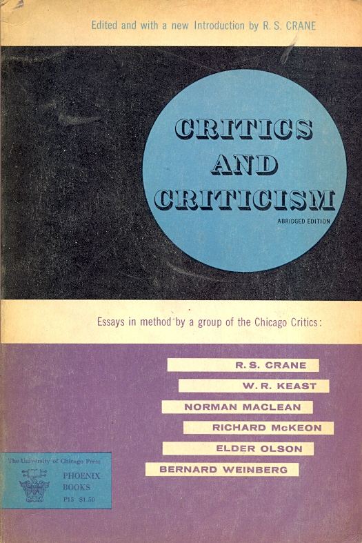 new criticism and essays