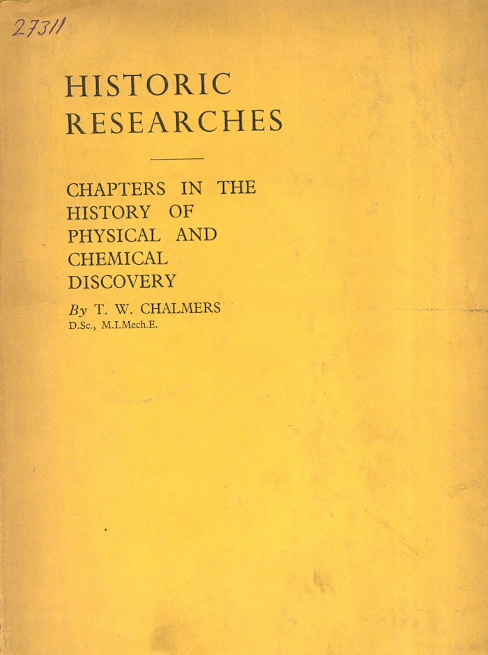 Research Chapters