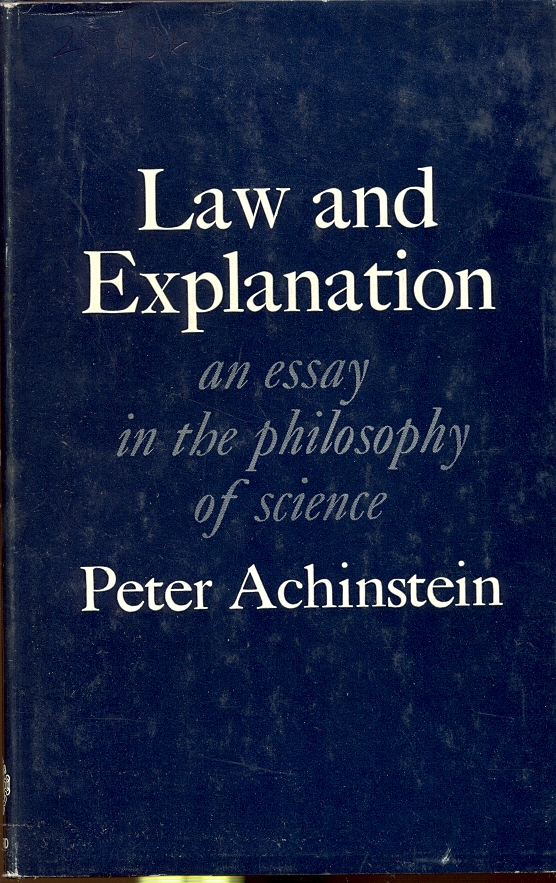 essays in philosophy of science The most difficult part of getting started on a philosophy of science paper is selecting a topic in order to make this task easier, follow our guide below.